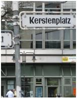 Kerstenplatz in Wuppertal